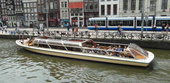 Take this awesome electric boat for a spin!