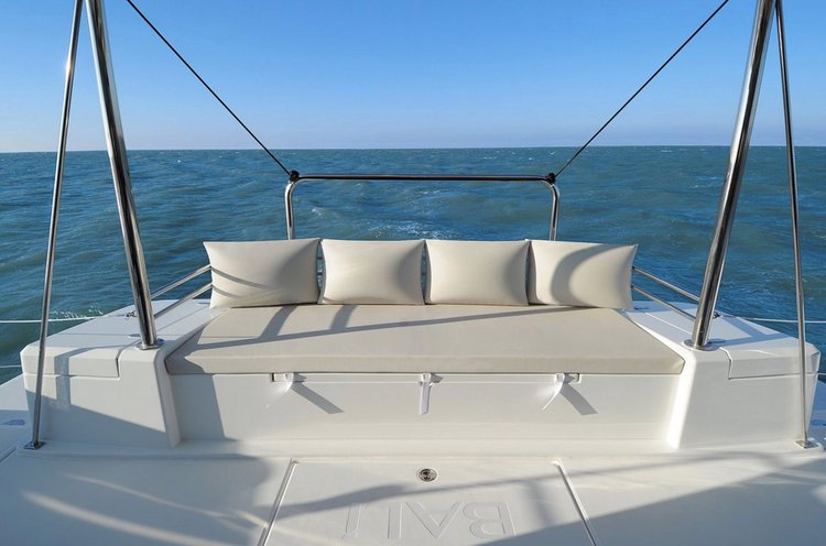 Catamaran boat for rent in Newport