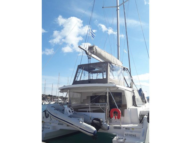 Experience Lavrion, GR on board this amazing Bali Catamarans Bali 4.5