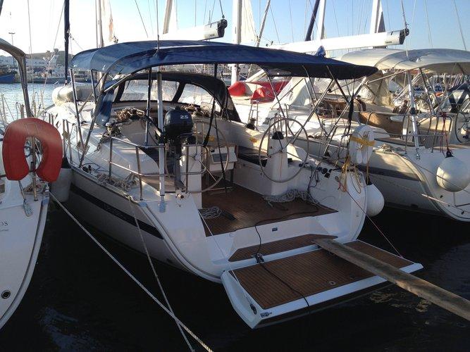 Climb aboard this Bavaria Yachtbau Bavaria 40 Cruiser for an unforgettable experience