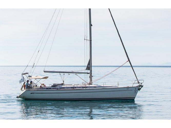 Enjoy luxury and comfort on this Bavaria Yachtbau Bavaria 44 in Lefkada