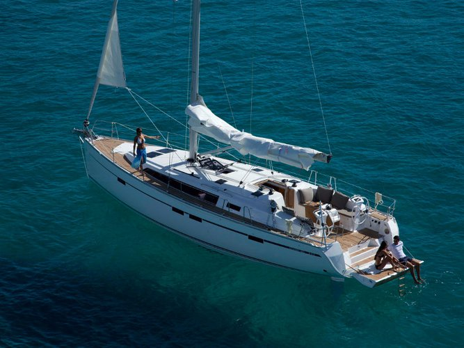 All you need to do is relax and have fun aboard the Bavaria Yachtbau Bavaria Cruiser 46