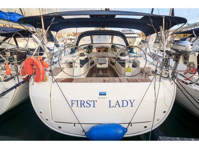 Climb aboard this Bavaria Yachtbau Bavaria 45 Cruiser for an unforgettable experience