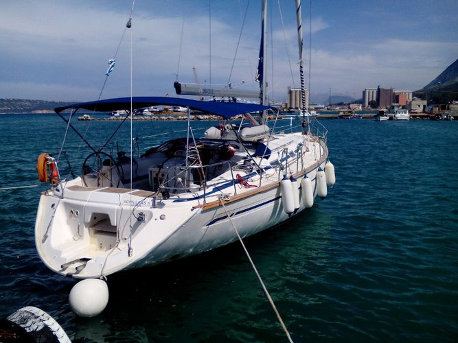All you need to do is relax and have fun aboard the Bavaria Yachtbau Bavaria 47