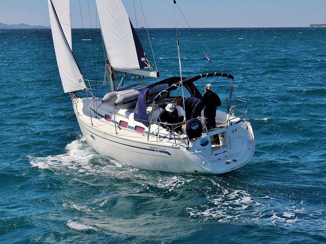 Rent this Bavaria Yachtbau BAVARIA 33 C  for a true nautical adventure