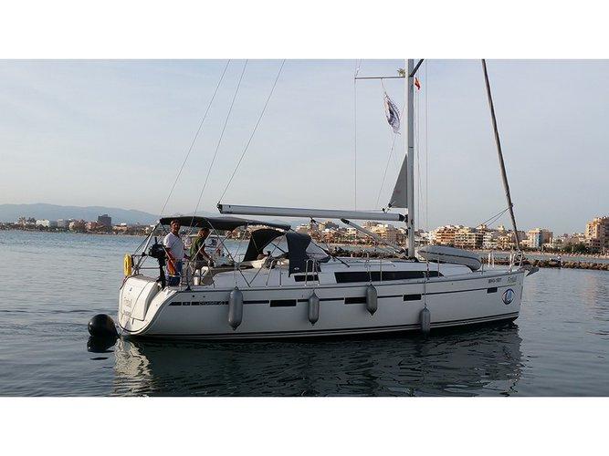 Enjoy luxury and comfort on this Segur De Calafell - Barcelona sailboat charter