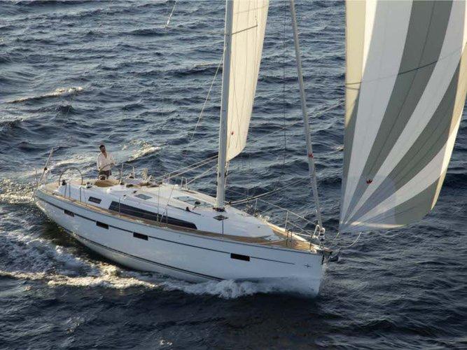 Experience Corfu on board this elegant sailboat