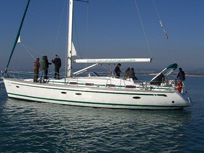 Relax on board our sailboat charter in Sitges, Barcelona