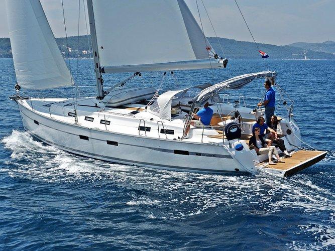 Climb aboard this Bavaria Yachtbau BAVARIA C 50 BT for an unforgettable experience