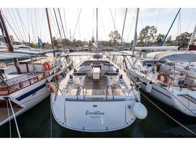 Rent this Bavaria Yachtbau Bavaria Cruiser 56 for a true nautical adventure