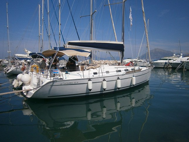 Charter this amazing sailboat in Lefkada
