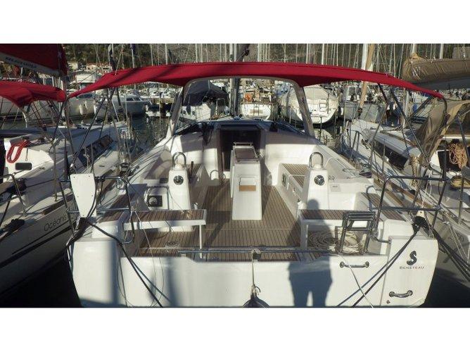 Sail Dubrovnik, HR waters on a beautiful Beneteau Oceanis 38.1