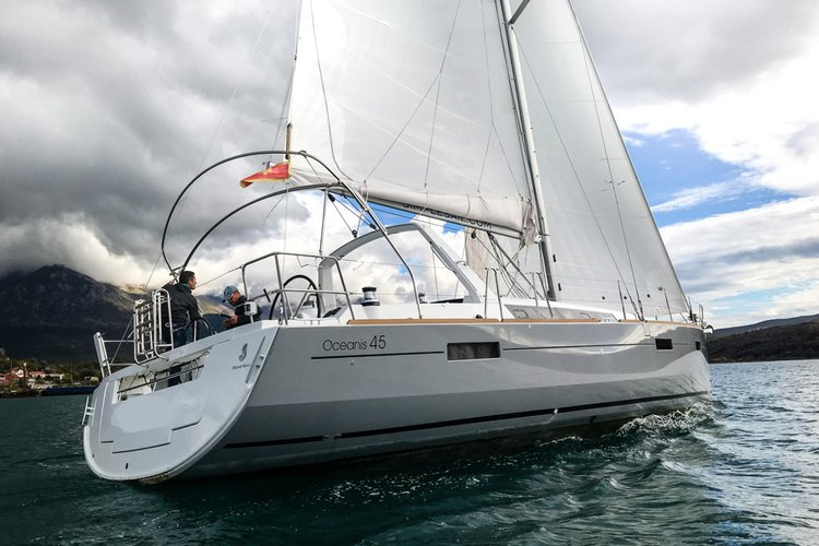45.0 feet Beneteau in great shape