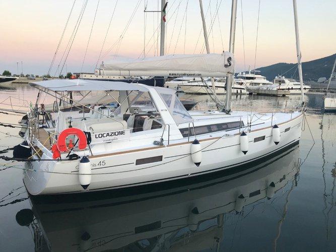 Experience La Spezia on board this elegant sailboat
