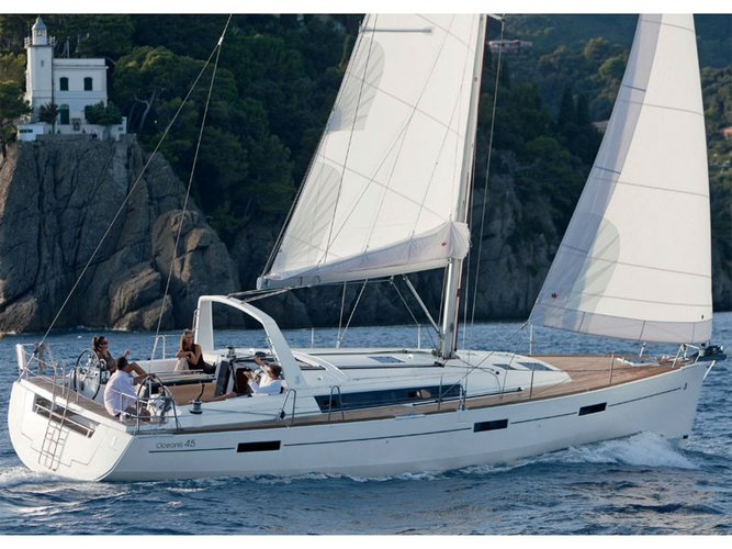 Rent this Beneteau Oceanis 45 for a true nautical adventure