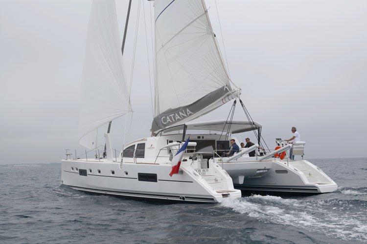 Catana's 55.0 feet in Raiatea