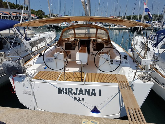 Enjoy luxury and comfort on this Dufour Yachts Dufour 460 Grand Large in Medulin