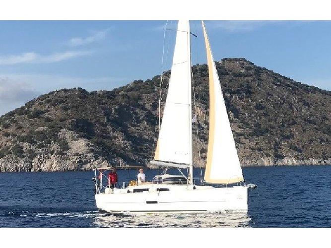 Enjoy luxury and comfort on this Fethiye sailboat charter