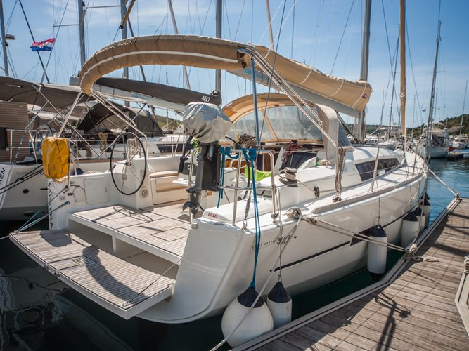 Explore Primošten on this beautiful sailboat for rent