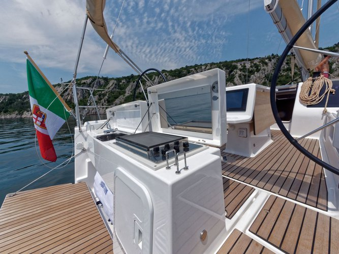 Charter this amazing Dufour Yachts Dufour 412 Grand large in Cagliari, IT