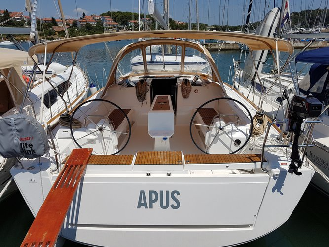 Explore Pula on this beautiful sailboat for rent