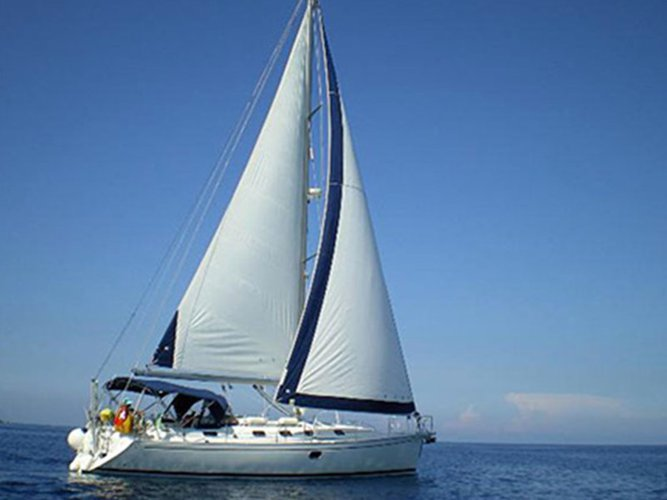 Hop aboard this amazing sailboat rental in Skradin!