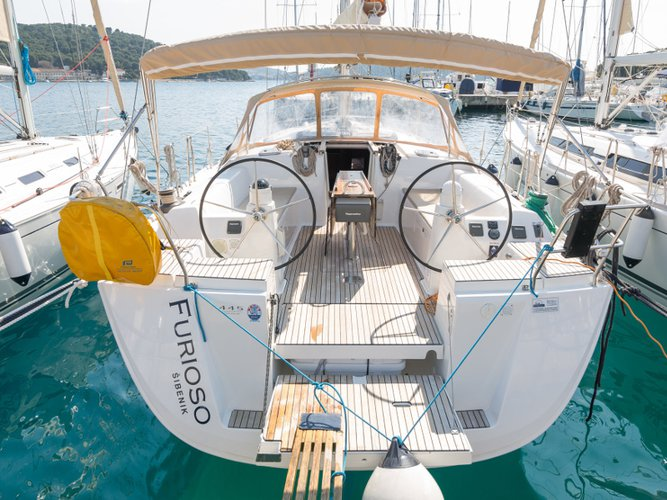 Charter this amazing Dufour Yachts Dufour 445 Grand Large in Rogoznica, HR