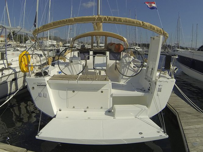 All you need to do is relax and have fun aboard the Dufour Yachts Dufour 460 Grand Large