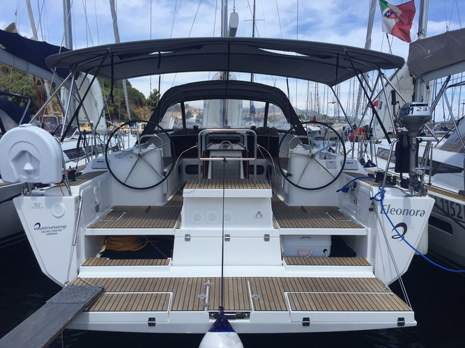 Beautiful Dufour Yachts Dufour 512 Grand Large ideal for sailing and fun in the sun!