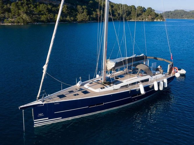 Take this Dufour Yachts Dufour 560 Grand Large for a spin!