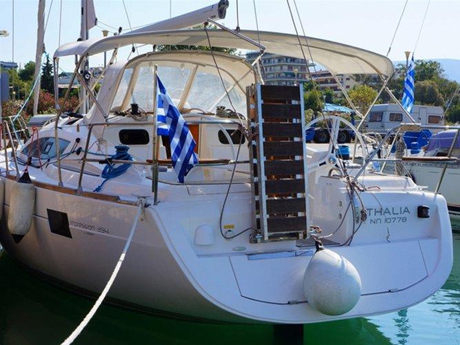 Experience Athens, GR on board this amazing Elan Elan 394 impression
