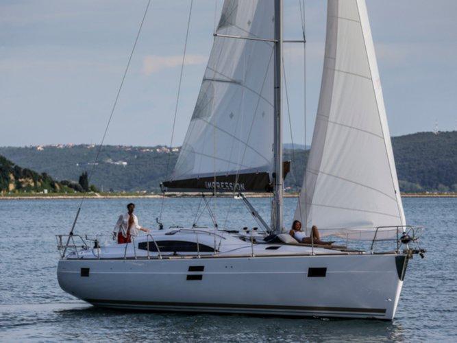 Enjoy Pontevedra, ES to the fullest on our comfortable Elan Elan 45 Impression