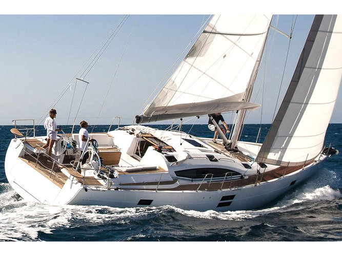 Hop aboard this amazing sailboat rental in San Benedetto del Tronto!