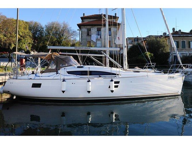 Charter this amazing Elan Elan 40 Impression in Zadar, HR