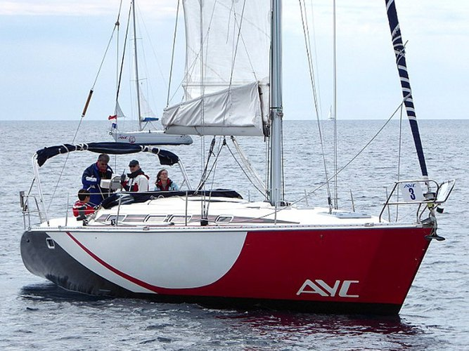 Sail Vodice, HR waters on a beautiful Elan Elan 431