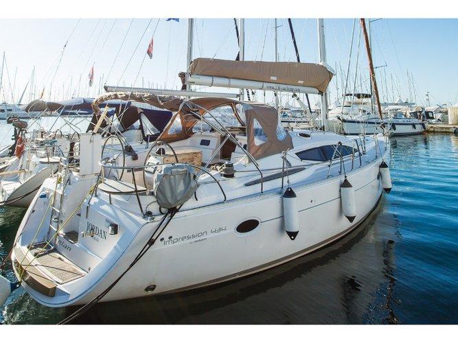 Explore Biograd on this beautiful sailboat for rent