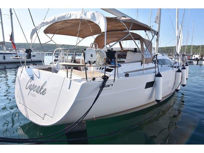 Hop aboard this amazing sailboat rental in Punat, Krk!