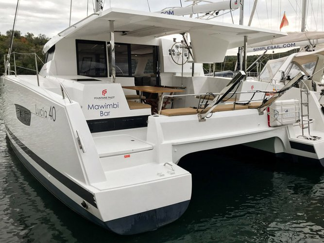 Charter this amazing sailboat in Tivat