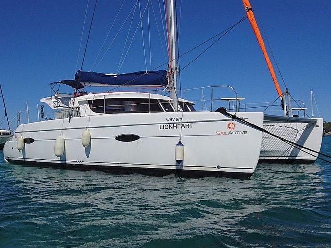Experience Palma de Mallorca on board this elegant sailboat