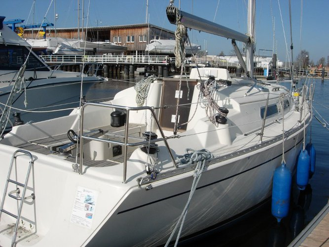 Rent this Hanse Yachts Hanse 311 for a true nautical adventure