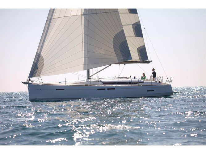 Climb aboard this Jeanneau Sun Odyssey 449 for an unforgettable experience