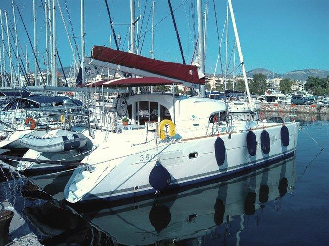 Sail Athens, GR waters on a beautiful Lagoon Lagoon 380