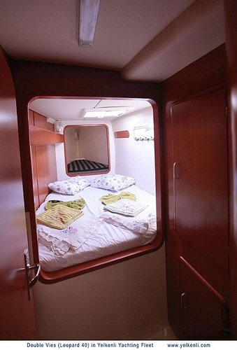 Starboard Front Cabin