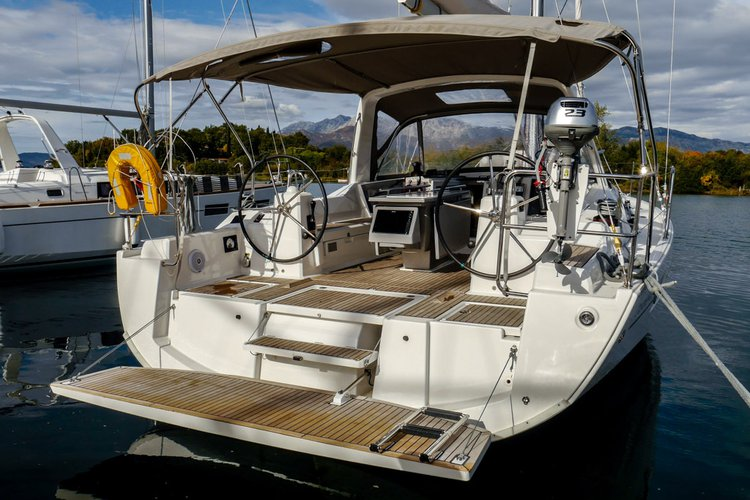 Have fun in the sun on this Tivat sail boat charter