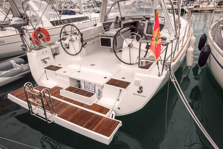 Discover Tivat  in style boating on this sail boat rental