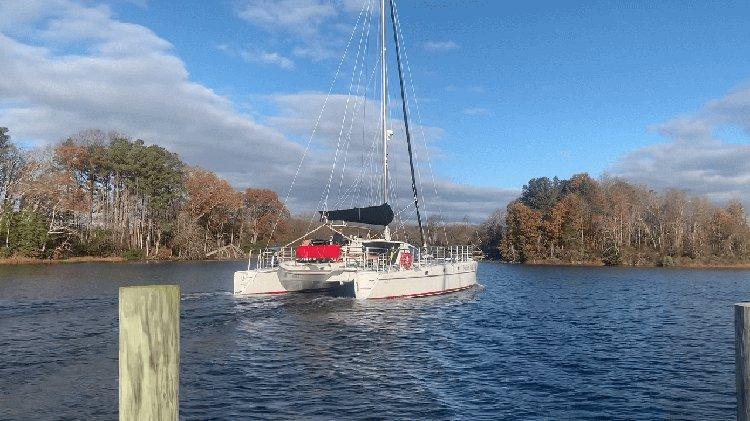 Catamaran boat rental in Newport, RI