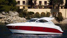 Climb aboard this Beneteau Monte Carlo 37 Hard Top for an unforgettable experience