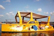 This catamaran rental is perfect to enjoy Panjim