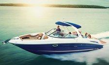 Enjoy luxury and comfort on this Panjim motor boat rental