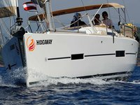 Sail Fethiye, TR waters on a beautiful Dufour Yachts Dufour 410 Grand Large 6